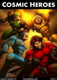 Cosmic Heroes 1 #1