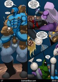 Cosmic Heroes 1 #18