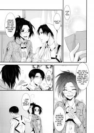 (C86) [Kiseki (Kisaki Noah)] kiss me once again (Shingeki no Kyojin) [English] #39