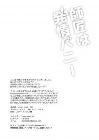 [Mumumu (Romumu)] Shishou wa Hatsujou Bunny (Fate/Grand Order) #16