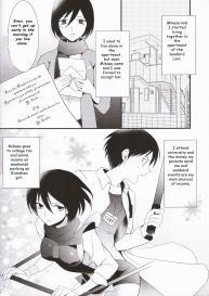 (C86) [Poritabe. (Shirihagi Gomame)] EreMika Yojouhan (Shingeki no Kyojin) [English] #3