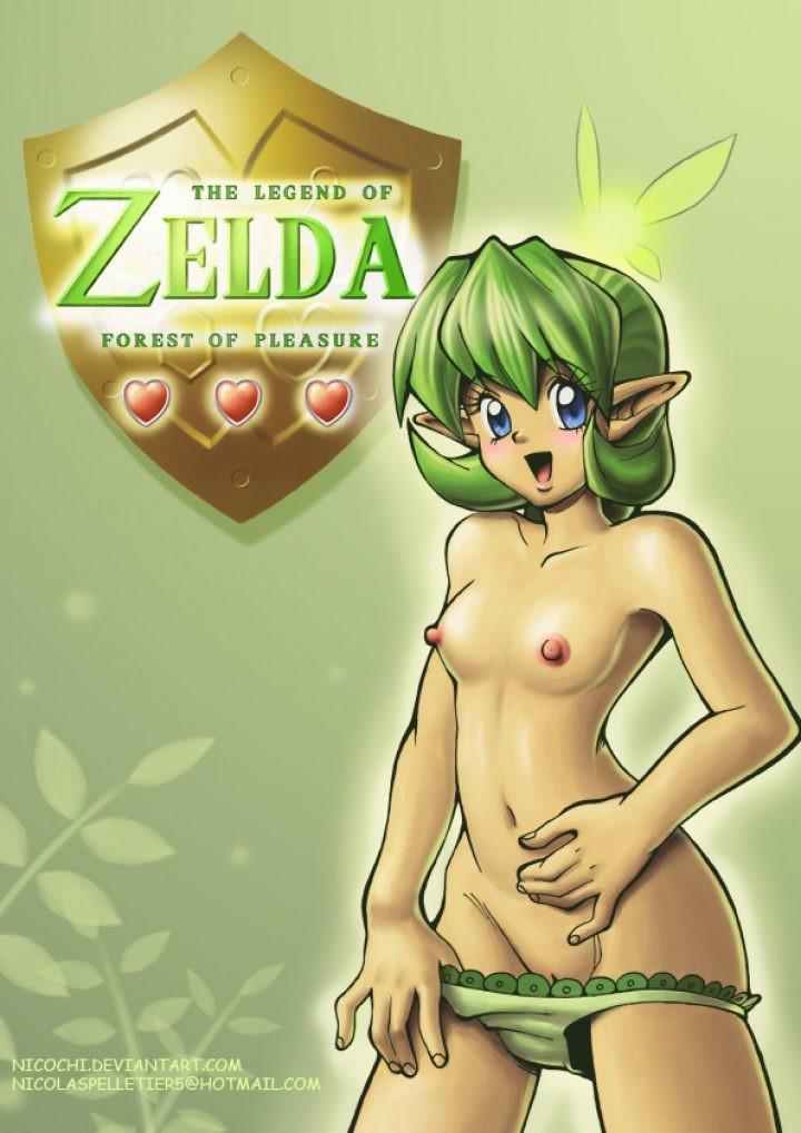 Of the hentai comic zelda legend The Legend