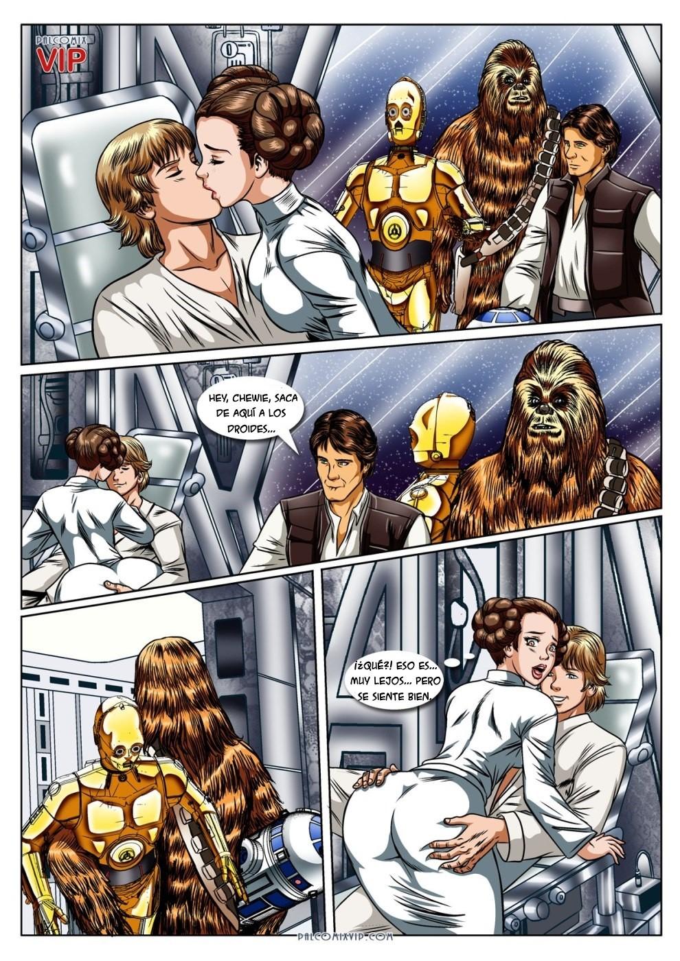 Star war xxx comic