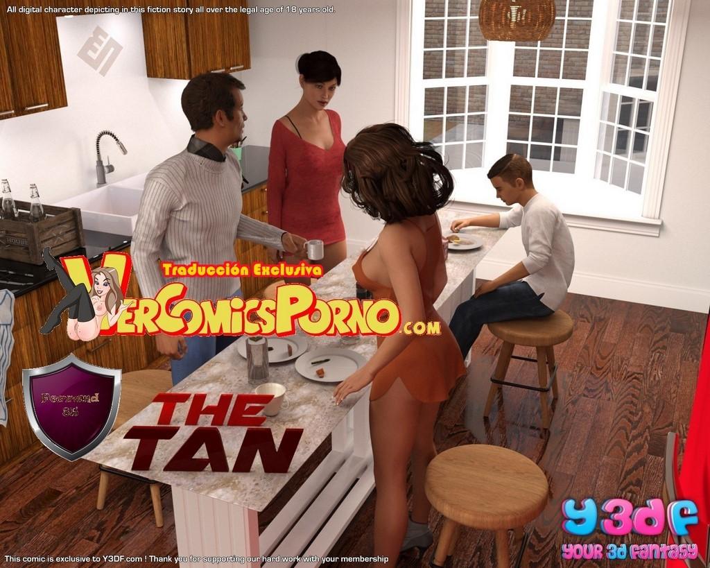 Incesto madre e hijo The Tan Y3df parte 1 | Vercomicsporno 3D